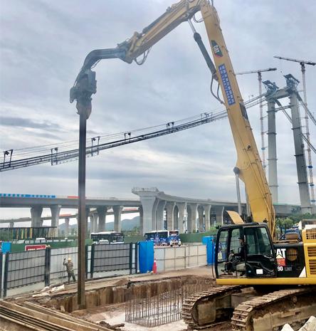 水陆平台钢栈桥制作