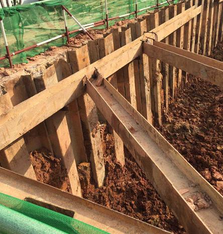 土建拉森挡土钢板桩